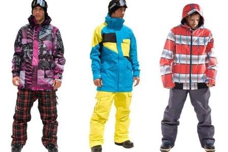 В чем кататься на сноуборде когда тепло
